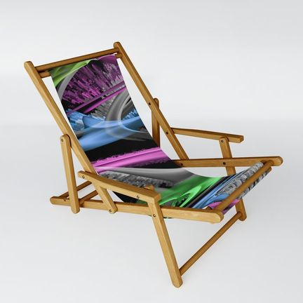 Sling Chair - just-lovely-colors-in-blue-and-pink