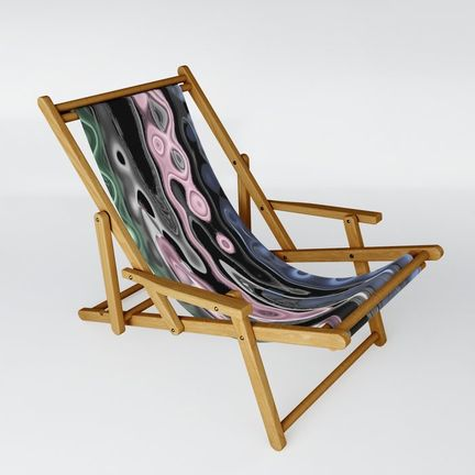 Sling Chair - octopus-in-pink