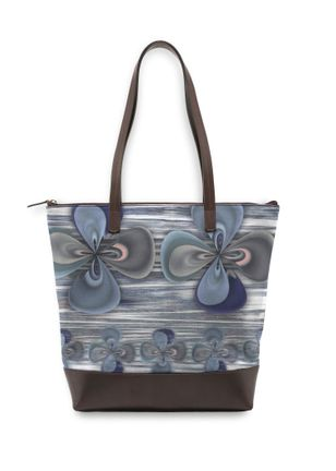 Statement Bag - Clover in blue